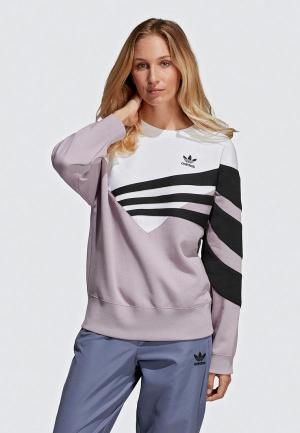Свитшот adidas Originals SWEATER. Цвет: фиолетовый