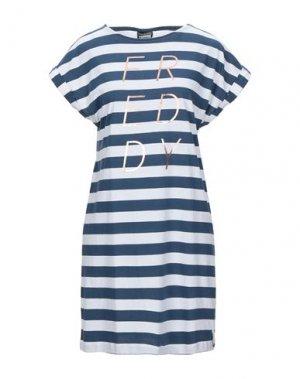 Короткое платье FREDDY. Цвет: темно-синий