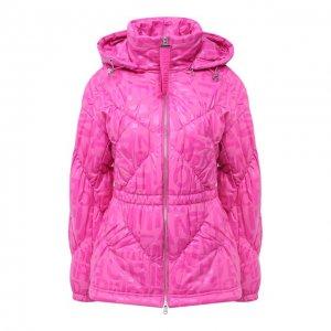 Куртка Emporio Armani. Цвет: розовый