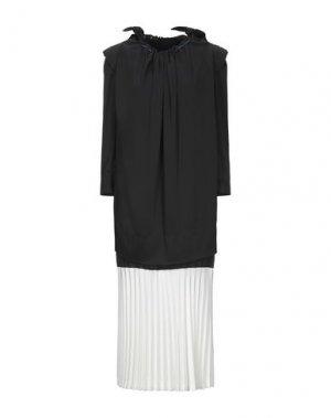 Платье длиной 3/4 TOGA PULLA. Цвет: черный