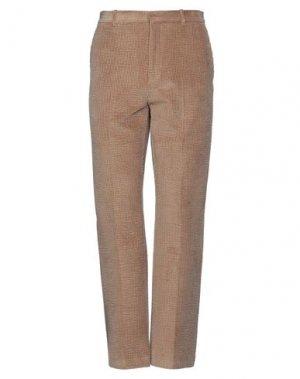 Повседневные брюки ACNE STUDIOS. Цвет: верблюжий