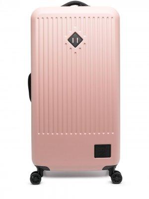 Чемодан с нашивкой-логотипом Herschel Supply Co.. Цвет: розовый