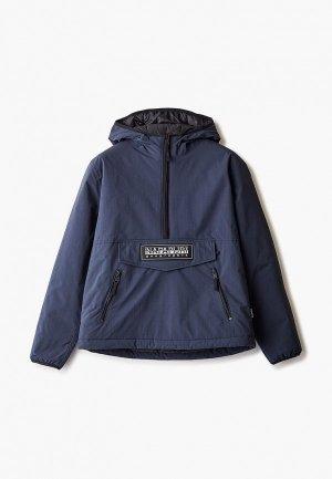 Куртка утепленная Napapijri TAIKA. Цвет: синий