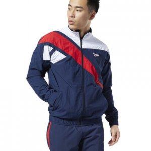 Спортивная куртка Classics Vector Reebok. Цвет: collegiate navy