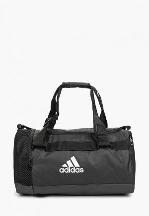 Сумка спортивная adidas TR CVRT DUF S. Цвет: черный