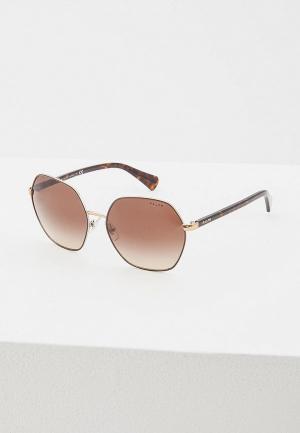 Очки солнцезащитные Ralph Lauren RA4124 933813. Цвет: золотой