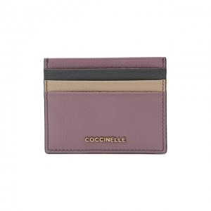Кожаный футляр для кредитных карт Coccinelle. Цвет: разноцветный