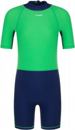 Плавательный костюм для мальчиков , размер 104 Joss. Цвет: зеленый
