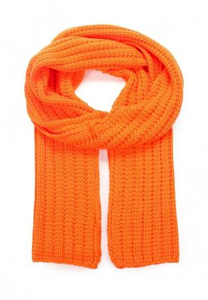 Шарф Anta Lifestyle. Цвет: оранжевый