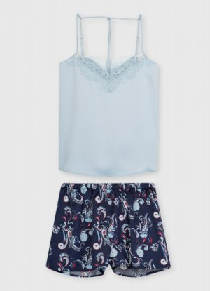 Пижама O`Stin. Цвет: лазурный