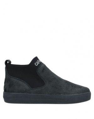 Высокие кеды и кроссовки CAFèNOIR. Цвет: черный