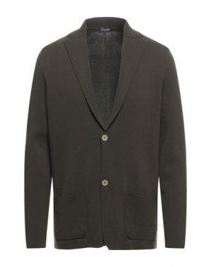 Пиджак DRUMOHR. Цвет: зеленый-милитари