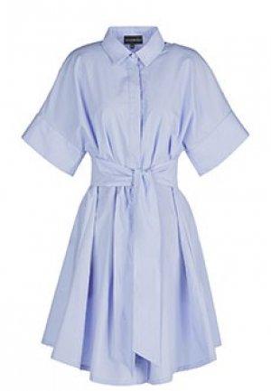 Платье EMPORIO ARMANI. Цвет: фиолетовый