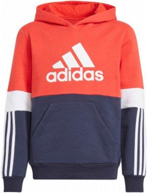 Худи для мальчиков adidas Colorblock, размер 164. Цвет: разноцветный