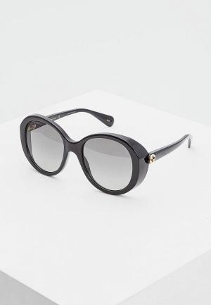 Очки солнцезащитные Gucci GG0368S001. Цвет: черный