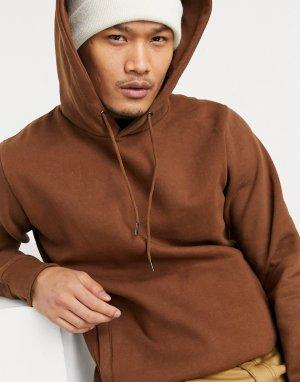 Худи коричневого цвета -Коричневый цвет Celio