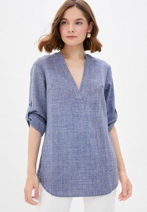 Блуза Maurini. Цвет: голубой