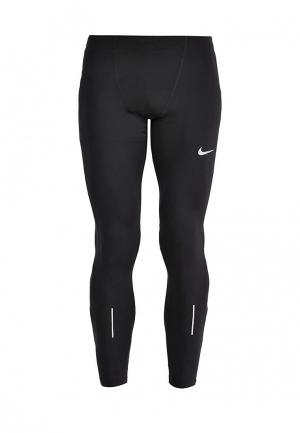 Тайтсы Nike Mens Running Tights. Цвет: черный