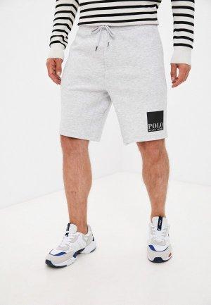 Шорты спортивные Polo Ralph Lauren. Цвет: серый