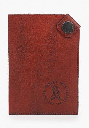 Обложка для паспорта GJO.E. Цвет: бордовый