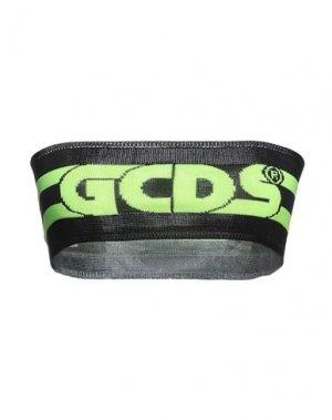 Топ без рукавов GCDS. Цвет: черный
