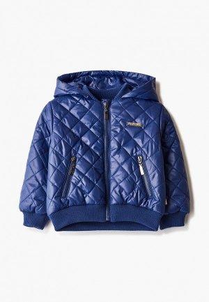 Куртка утепленная АксАрт. Цвет: синий