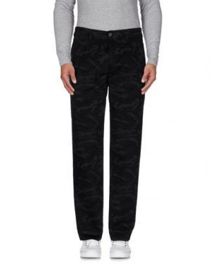 Повседневные брюки GARBSTORE. Цвет: черный
