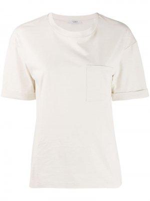 Однотонная футболка Peserico