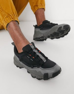 Серые кроссовки Puma Trailfox Overland-Серый