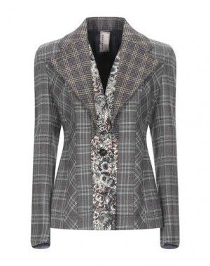Пиджак ANTONIO MARRAS. Цвет: серый
