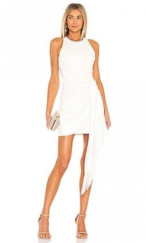 Мини платье bristol LIKELY. Цвет: белый