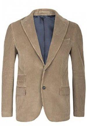 Пиджак ELEVENTY. Цвет: коричневый
