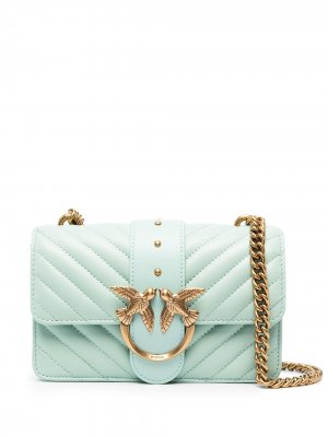 Мини-сумка Love Icon Pinko. Цвет: зеленый