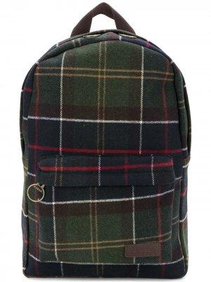 Рюкзак в клетку Carrbridge Barbour. Цвет: зеленый