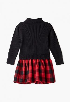Платье Gap. Цвет: черный