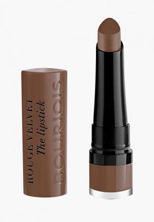 Помада Bourjois Rouge Velvet the Lipstick, 23 Taupe of Paris, 2,4 гр. Цвет: коричневый