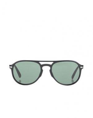 Солнечные очки PERSOL. Цвет: черный