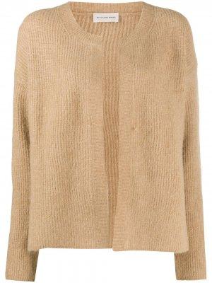 Long-sleeve cardigan By Malene Birger. Цвет: нейтральные цвета