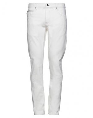 Джинсовые брюки JOHN VARVATOS. Цвет: белый
