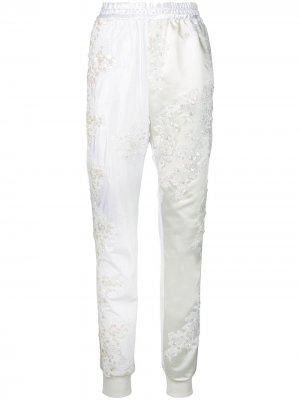 Спортивные брюки Wedding A.F.Vandevorst. Цвет: белый