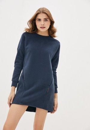 Платье Merrell. Цвет: синий