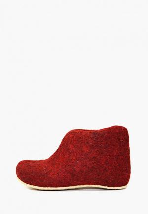 Тапочки Snegi. Цвет: бордовый