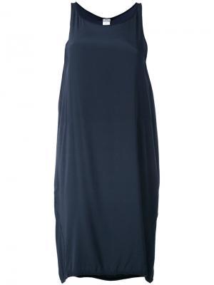 Платье-майка с вырезом-ковшом Kristensen Du Nord. Цвет: синий