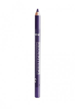 Карандаш для глаз Seventeen водостойкий т.44 Super Smooth W/P&Longstay зимний пурпур. Цвет: синий