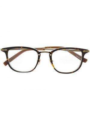 Очки Monday Rings Tortoise в прямоугольной оправе EQUE.M. Цвет: коричневый