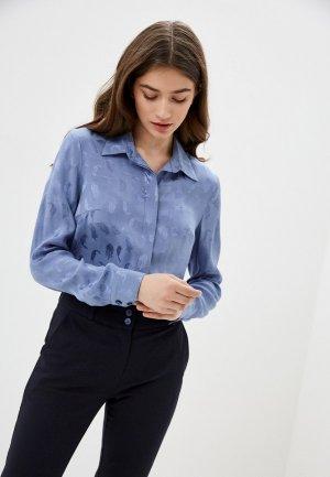 Блуза Gregory. Цвет: голубой