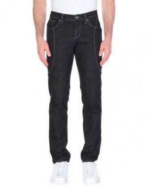 Джинсовые брюки ALVIERO MARTINI 1a CLASSE. Цвет: черный
