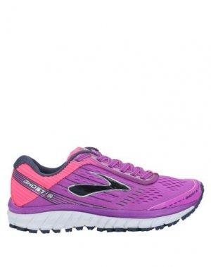 Низкие кеды и кроссовки BROOKS. Цвет: фиолетовый