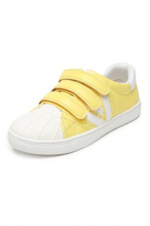 Кеды INDIGO KIDS. Цвет: желтый