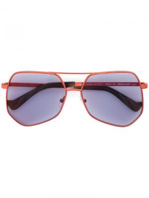 Солнцезащитные очки Megalast Grey Ant. Цвет: красный